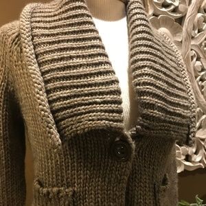 The Limited Chunky Knit Cropped Sweater Size S